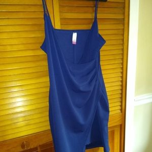 Blue No Boundaries Spaghetti Strap Dress